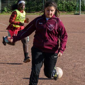 Girlpower beim Fußball